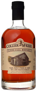 Collier and Mckeel Tennessee Whiskey 750ml